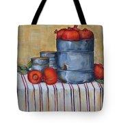 Red Pomegranates Tote Bag