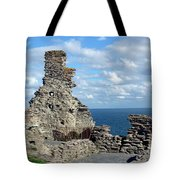 Tintagel Castle 1 Tote Bag