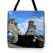 Tintagel Castle 2 Tote Bag
