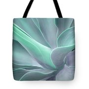 Tinted Agave Attenuata Abstract Tote Bag