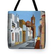 Tintin En Puerto Real Tote Bag