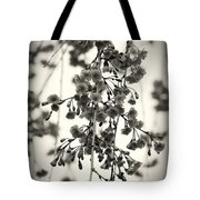 Tiny Buds And Blooms Tote Bag by Angie Tirado