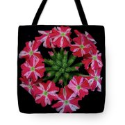 Tiny Bunch Of Red And Pink Flowers Tote Bag