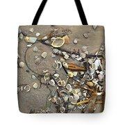 Tiny Crab Shells Tote Bag