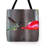 Tiny Flying Machine Tote Bag