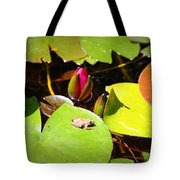 Tiny Frog Tote Bag
