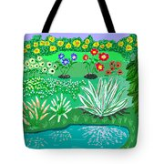 Tiny Garden  Tote Bag