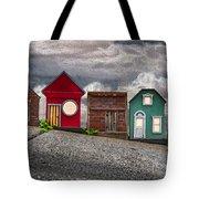 Tiny Houses On Walnut Street Tote Bag