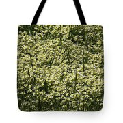 Tiny Meadow Flowers Tote Bag