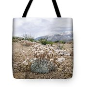Tiny Mountain Blooms Tote Bag by Margaret Pitcher