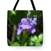 Tiny Purple Blooms Tote Bag