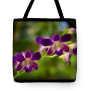 Tiny Purple Blooms Tote Bag