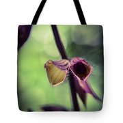 Tiny Purple Flower Tote Bag