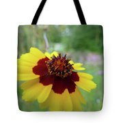 Tiny Yellow Flower Tote Bag