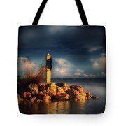 Tip Of The Island Tote Bag