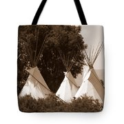 Tipis In Toppenish Tote Bag