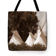 Tipis In Toppenish Tote Bag