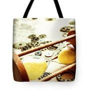 Tipping The Time Map Tote Bag
