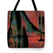 Tipsy Turvey Tote Bag