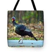 Tiptoe Turkey Trot Tote Bag