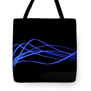 Tire Luminous Tread And Glowing Wake Tote Bag