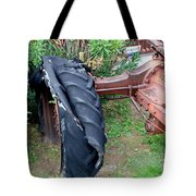 Tired Tractor Tire Tote Bag