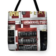 Tires And Battery Tote Bag
