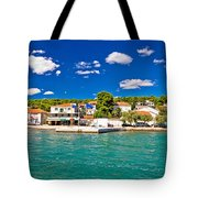 Tisno Panoramic View From Murter Island Tote Bag