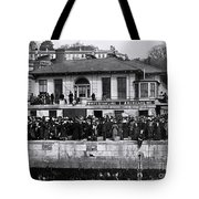 Titanic - White Star Wharf, Queenstown. Tote Bag