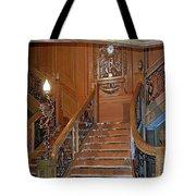 Titanics Grand Staircase Tote Bag