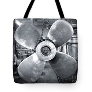 Titanic's Propellers Tote Bag