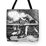Titans Of The Ring Tote Bag