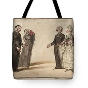 Title Three Clergymen  Tote Bag