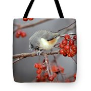 Titmouse Breakfast Tote Bag