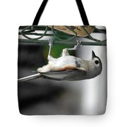 Titmouse Trickery Tote Bag