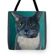 Titter, Cat Portrait Tote Bag
