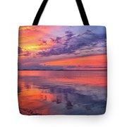 Titusville Sunset Tote Bag