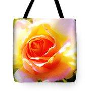 Tjs Rose A Glow Tote Bag