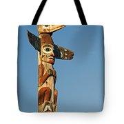 Tlingit Totem Pole Tote Bag by Greg Vaughn - Printscapes