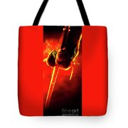 Tmnt 1   -  Raphael Smoky Red. Tote Bag
