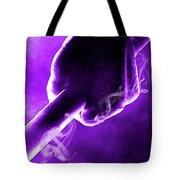 Tmnt 2   -  Donatello Smoky Purple. Tote Bag