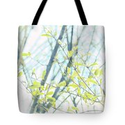 To Be In The Light Tote Bag