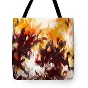 To Be With You Abstract Tote Bag