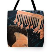 To Comb The Social Reactions Tote Bag