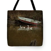 To Float Or Not To Float Tote Bag