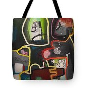 To Get Along Tote Bag