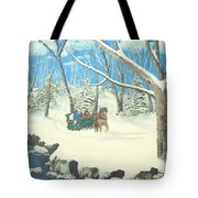 to Grandmothers House Tote Bag