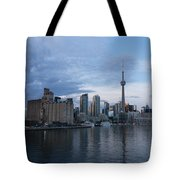 T O Harbour In Blue Tote Bag