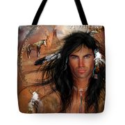 To Love A Warrior Tote Bag