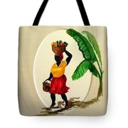 To Market Tote Bag by Karin  Dawn Kelshall- Best